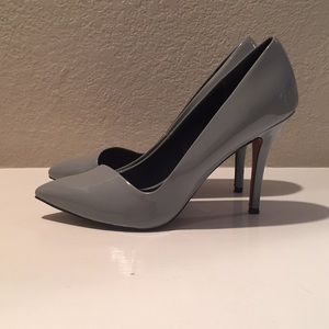 Aldo Gray Pointed Toe Heels